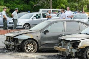Vlani vznikla na autách škoda za 20-tisíc eur.