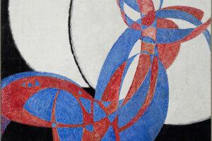 Kupkova Amorfa je zlomovým dielom modernej maľby.