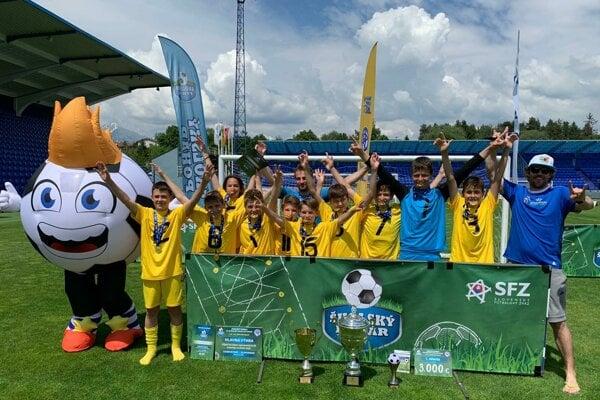 Školský pohár SFZ ovládli mladí Žilinčania.