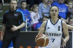 Slovenská reprezentantka Barbora Bálintová.
