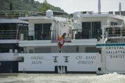 Loď Viking Sigyn sa vrátila do Budapešti.