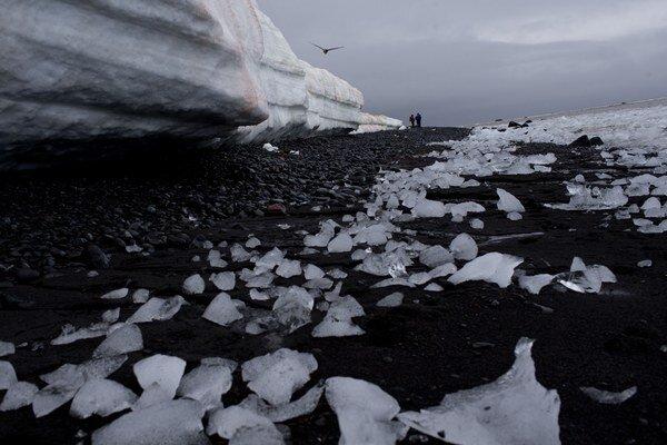 Arktický ľad zvyčajne dosahuje svoje ročné maximum v marci.