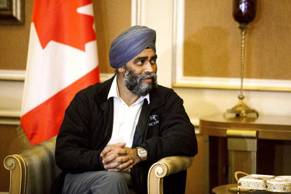 Kanadský minister obrany Harjit Sajjan.