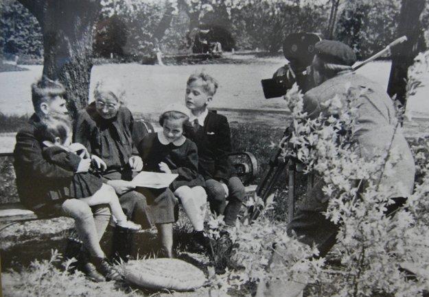 Ľudmila Podjavorinská mala rada deti.