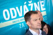 Líder opozičného hnutia OĽaNO Igor Matovič.