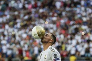Eden Hazard v drese Realu Madrid.