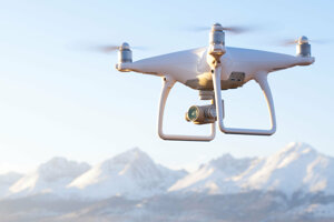 Dron/bezpilotné lietadlo.