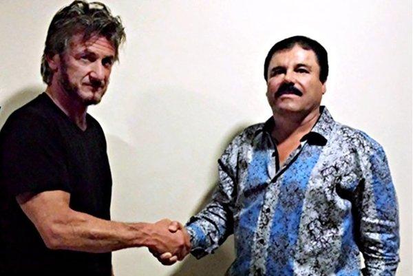Sean Penn a El Chapo. Čo je za tým?