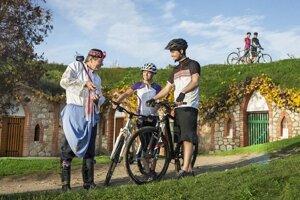 Vinárska cyklotrasa na Morave