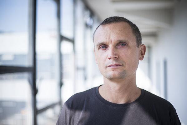 Ekológ Tomáš Derka.