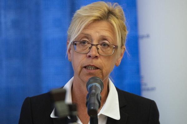 Výkonná riaditeľka Asociácie zdravotných poisťovní SR Katarína Kafková.