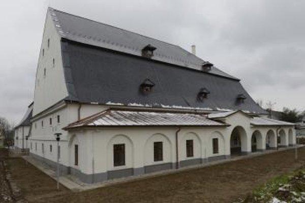 Zrekonštruovaný sklad soli NKP Solivar v Prešove.