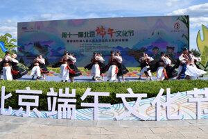 Poľana na festivale v Pekingu.