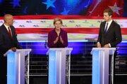 Elizabeth Warrenová, uchádzačka o nomináciu Demokratickej strany na post prezidenta USA.