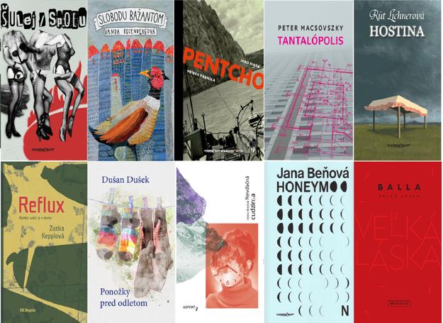 Toto je desiatka kníh, ktoré sa v 11. ročníku súťaže Anasoft litera dostali do finále. Vlani zvíťazil román Medzerový plod Veroniky Šikulovej.