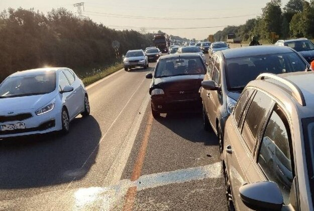 Ranná nehoda na 19. kilometri D1.
