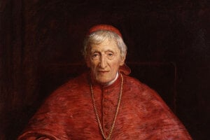 Kardinál John Henry Newman (1801 – 1890).