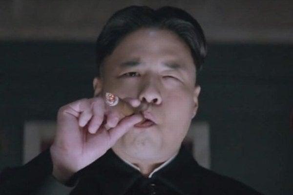 Kim vo filme.