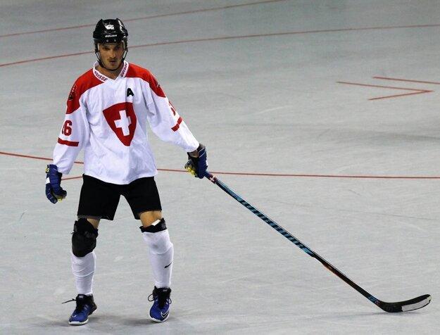 Mário Paulík v národnom drese Švajčiarska