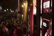 Amsterdamská štvrť De Wallen je známa legálnou prostitúciou.