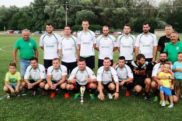 Futbalisti Horného Ohaja vyhrali turnaj na domácej pôde.