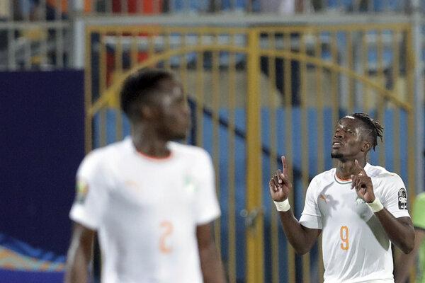 Dazet Wilfried Zaha v Africkej lige národov, ilustračná fotografia.