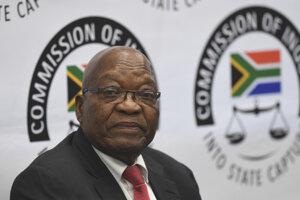 Bývalý prezident Juhoafrickej republiky Jacob Zuma