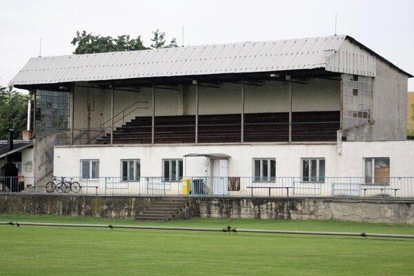 Budova štadióna ŠK Petrova Ves