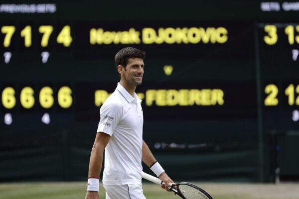 Novak Djokovič práve vyhral piaty Wimbledon.
