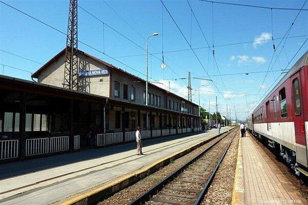 Železničná stanica v Spišskej Novej Vsi.
