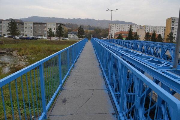 """""""Modrý"""" most vo Svidníku."""