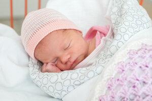 Mária Miklošová (2280 g, 45 cm) sa narodila 8. júla Kataríne a Pavlovi z Považskej Bystrice.