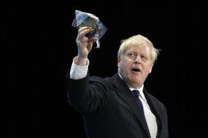 Nový líder britských konzervatívcov Boris Johnson.