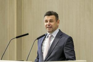Podpredseda vlády a minister životného prostredia SR László Sólymos.