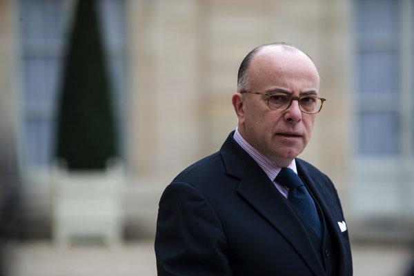 Francúzsky minister vnútra Bernard Cazeneuve.
