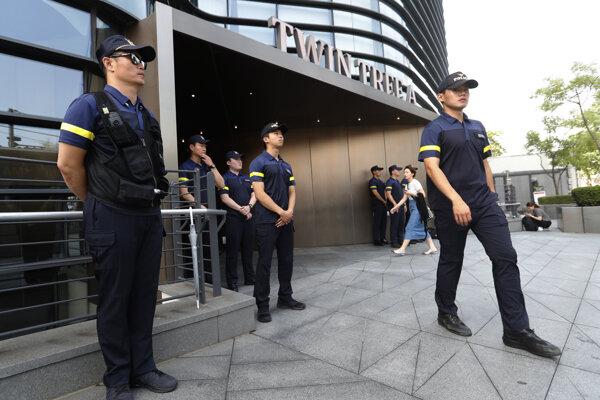 Kórejská polícia - ilustračná fotografia.