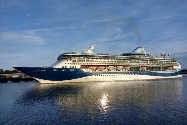 Výletná loď Marella Discovery.
