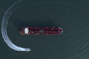 Britský tanker Stena Impero zadržiavaný Iránom.