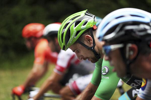 Peter Sagan na Tour de France 2019 obhájil zelený dres.