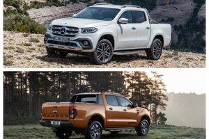 Mercedes-Benz X a Ford Ranger - dva pick-upy, v dvoch úplne rozdielnych situáciách