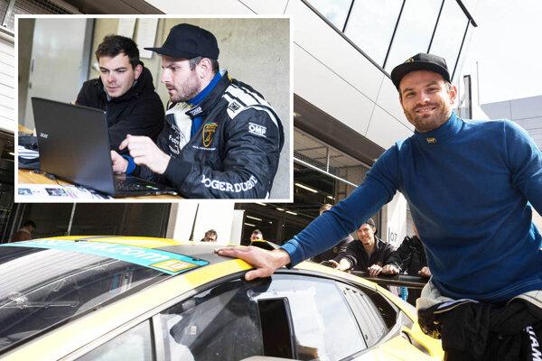 Bratia Filip a Samo Sládečkovci sa predstavia so svojím autom Lamborghini Huracan na slávnom belgickom okruhu v Spa-Francorchamps.