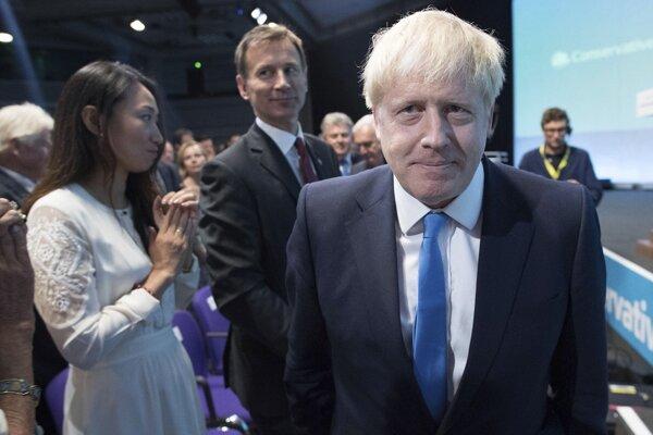 Novozvolený líder Konzervatívnej strany Boris Johnson.