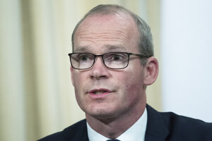 Írsky minister zahraničných vecí Simon Coveney.