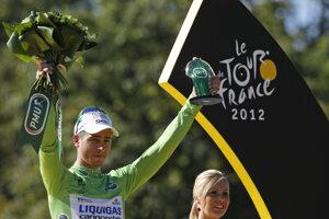 Prvý zelený dres získal Peter Sagan v roku 2012.