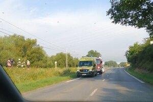 Tragická udalosť sa stala na úseku trate medzi Lipanmi a Rožkovanmi.