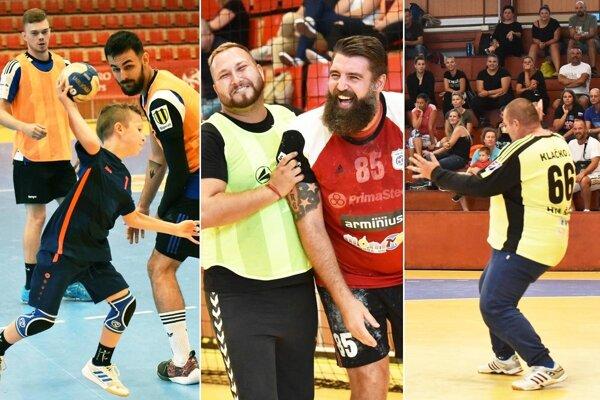 Šport a dobrá nálada dominovali na dnešných narodeninách HKM Šaľa.