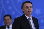Brazílsky prezident Jair Bolsonaro.