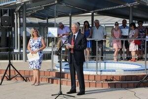 Bývalý dlhoročný starosta Nesvád Jozef Haris.