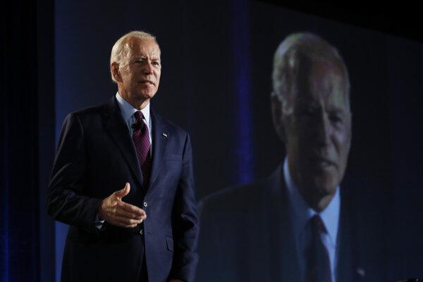 Bývalý viceprezident Spojených štátov Joe Biden.
