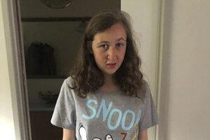 Stratená tínedžerka.